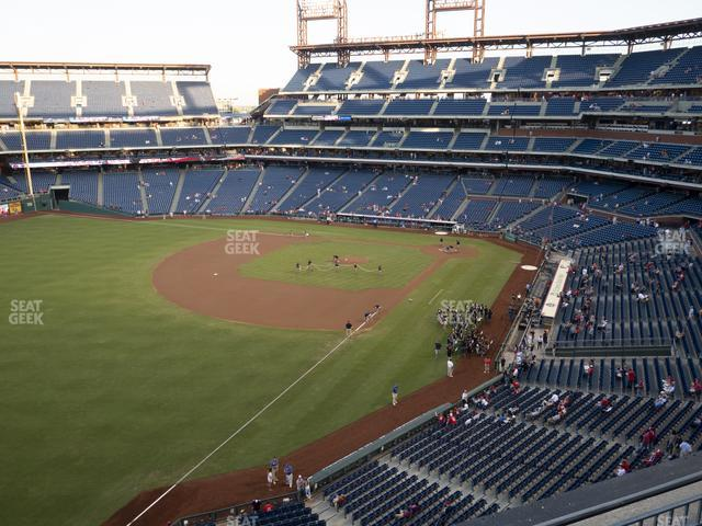 Citizens Bank Park Section 332 view