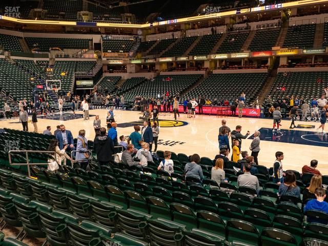 Bankers Life Fieldhouse Section 15 view