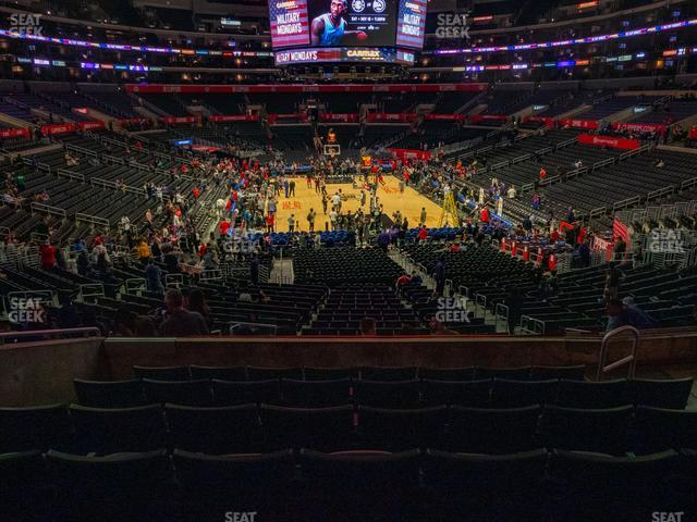 Staples Center Section 217 view