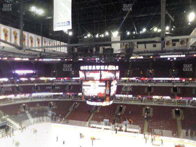 United Center Section 316 view