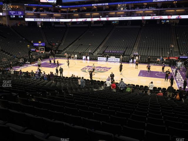 Golden 1 Center Section 119 view