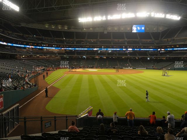 Minute Maid Park Section 152 view