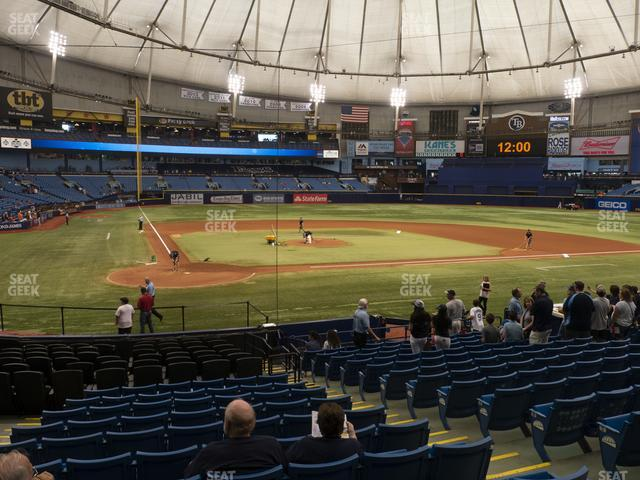 Tropicana Field Section 106 view