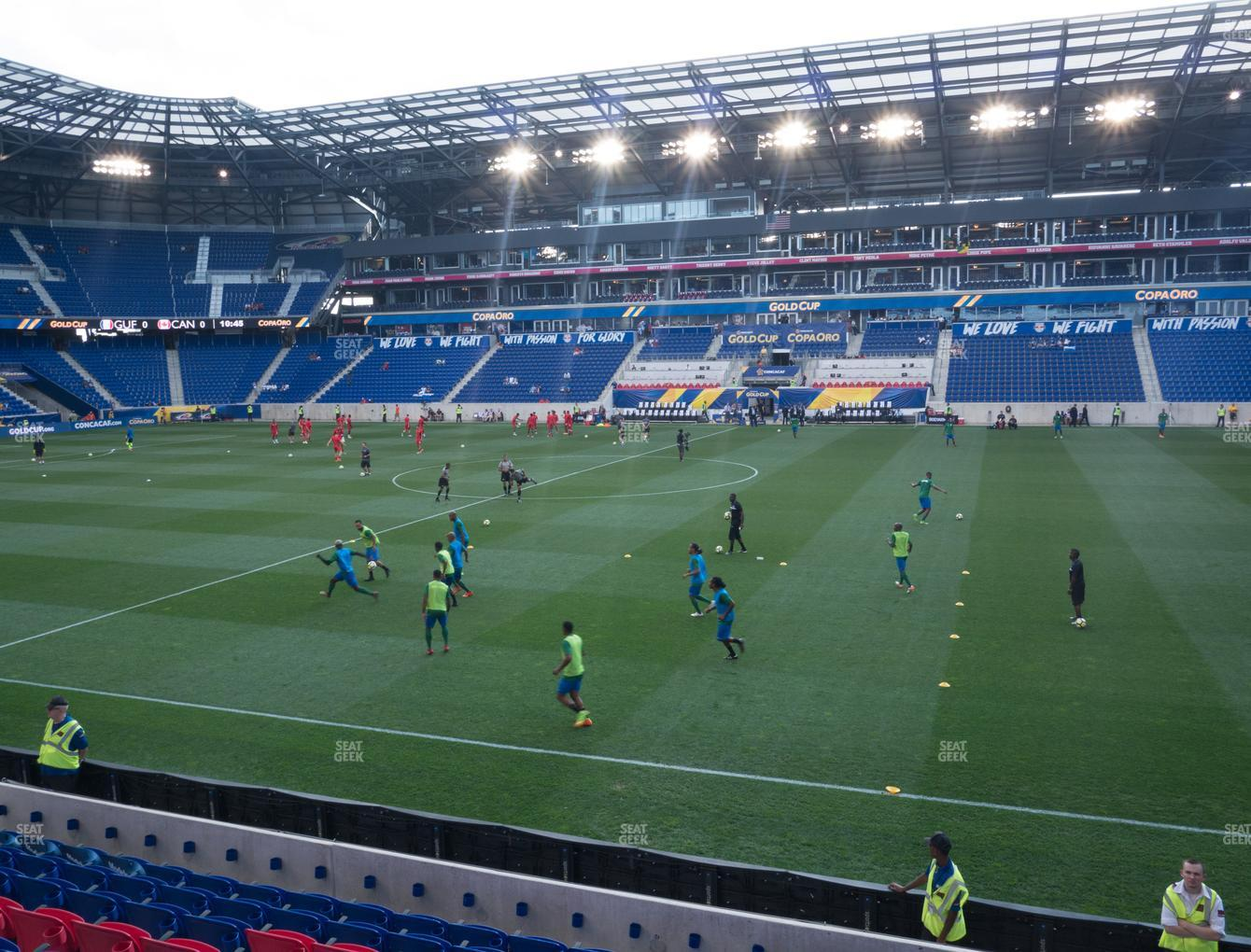 Red Bull Arena Section 125 Seat Views Seatgeek