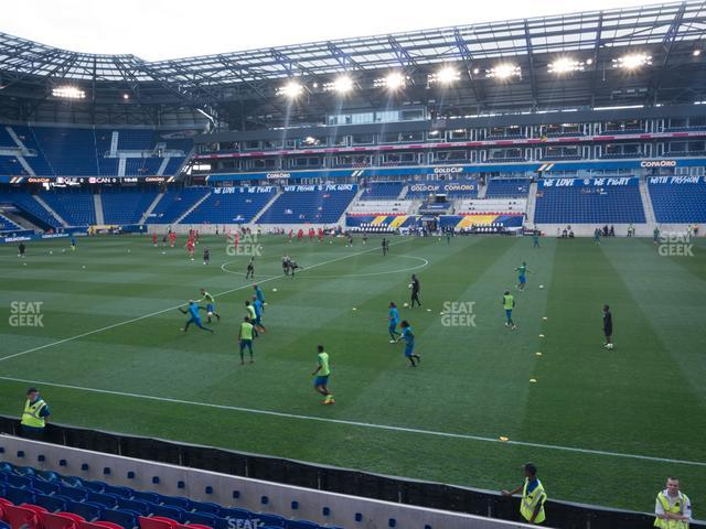 Red Bull Arena Section 125 view