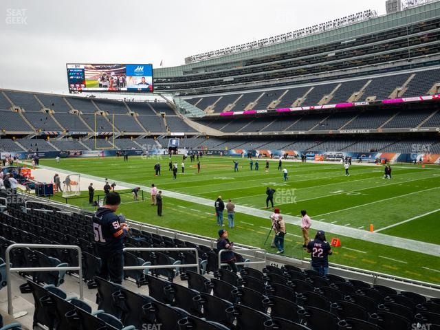 Soldier Field Section 130 view