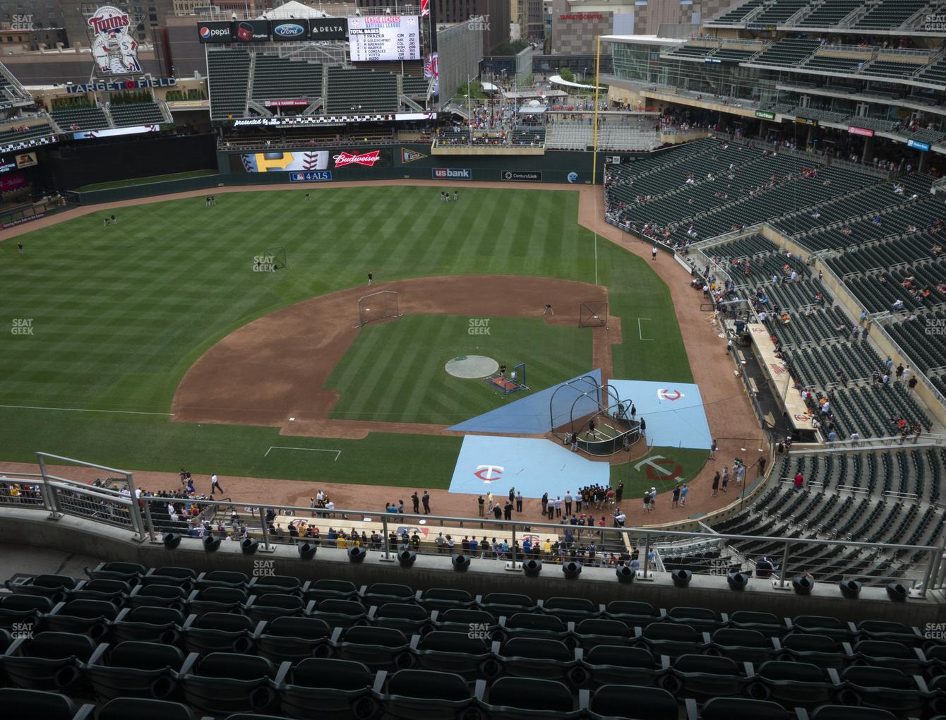 Minnesota Twins at Target Field Section 319 View