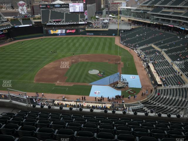 Target Field Section 319 view
