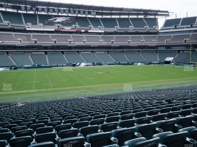 Lincoln Financial Field Section 137 view