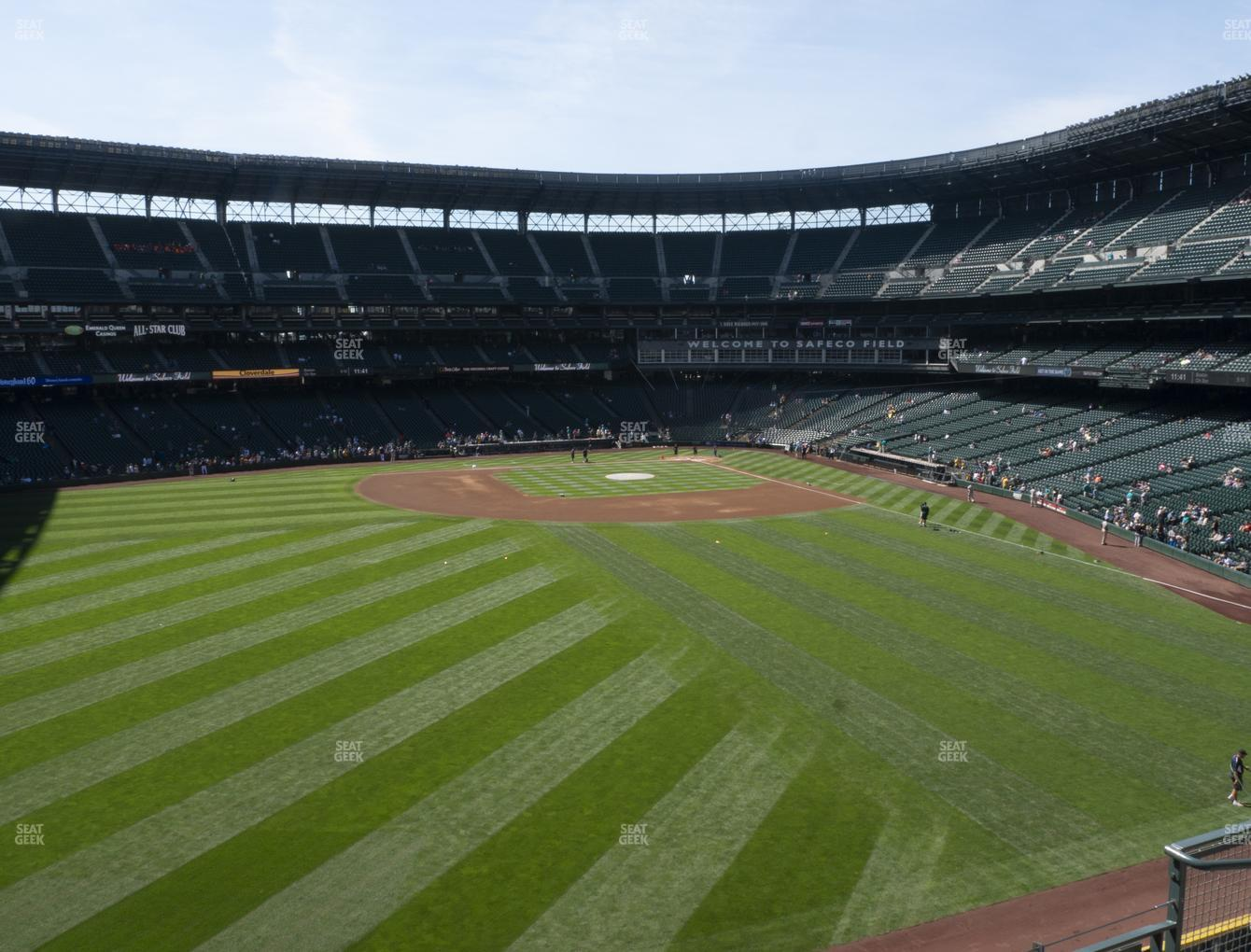 Seattle Mariners at T-Mobile Park Section 185 View