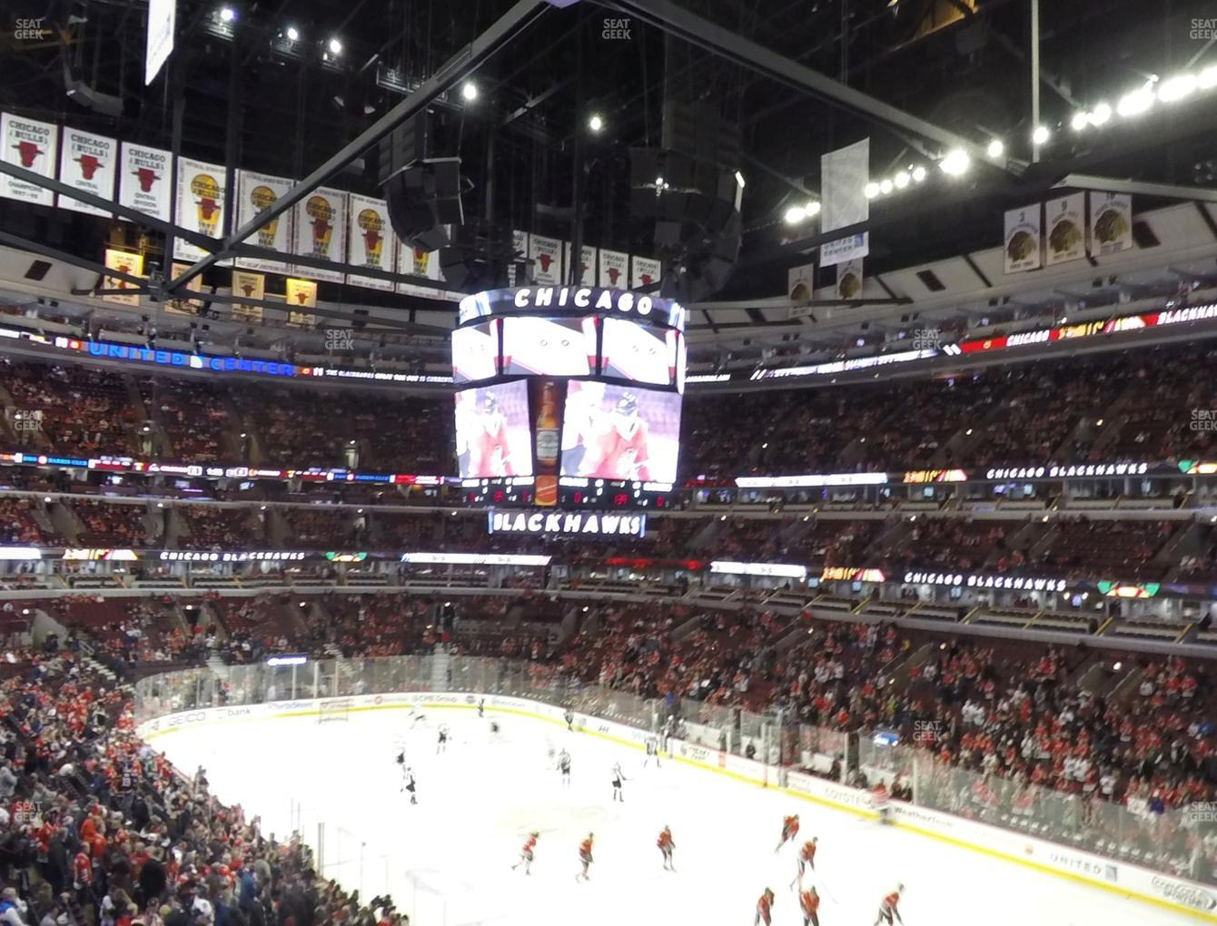 United Center Section 213 Seat Views | SeatGeek