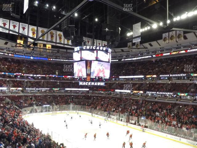 United Center Section 213 view