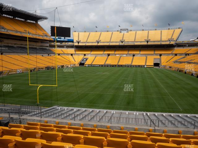 Heinz Field Section 151 view