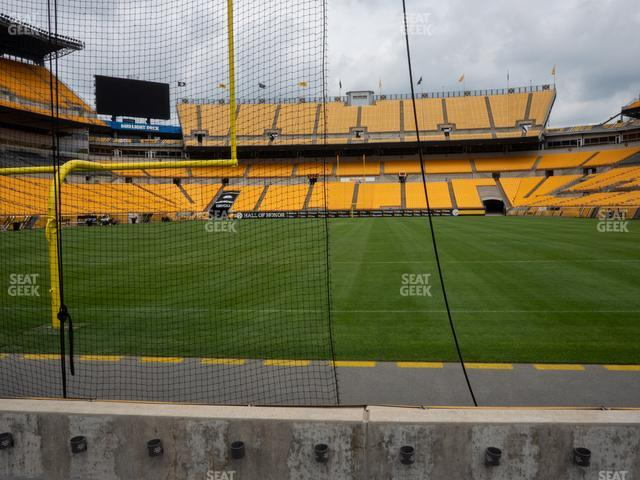 Heinz Field Section FC 3 view