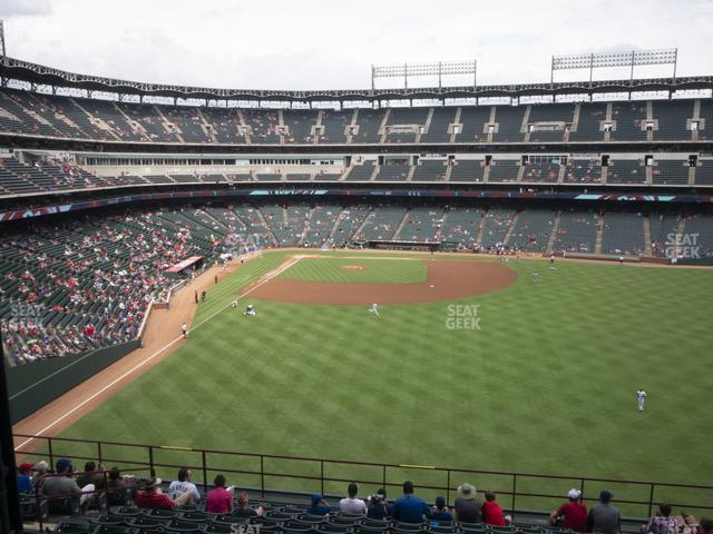Globe Life Park Section 248 view