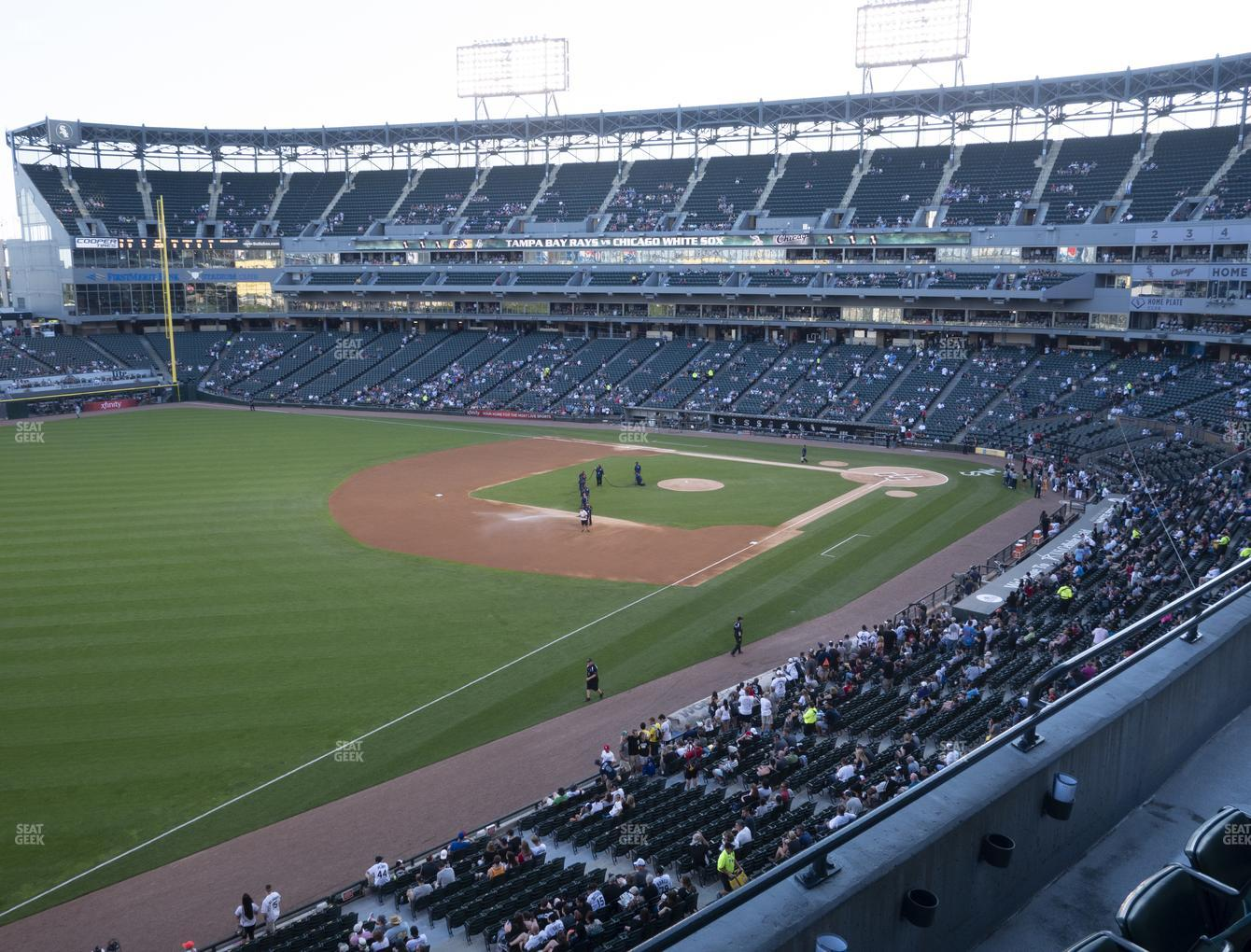 Chicago White Sox at Guaranteed Rate Field Section 350 View