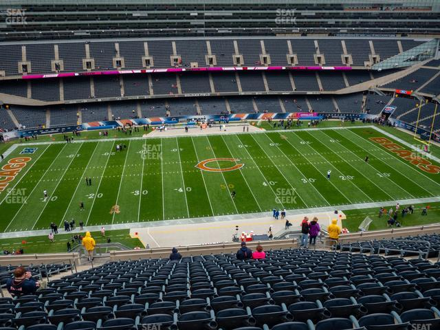 Soldier Field Section 438 view