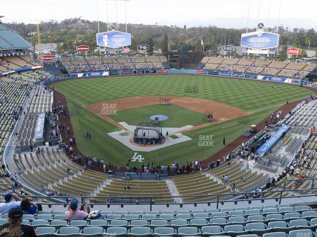 Dodger Stadium Seating Chart & Map | SeatGeek on