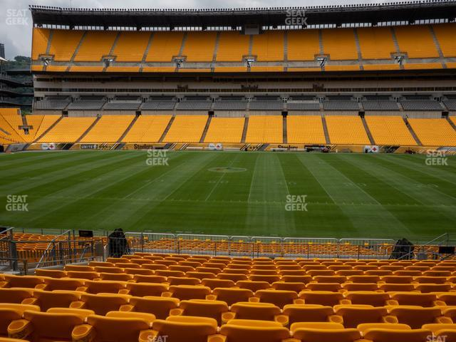 Heinz Field Section 111 view