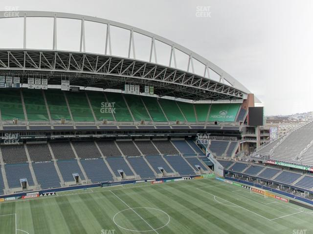 CenturyLink Field Upper 312 view