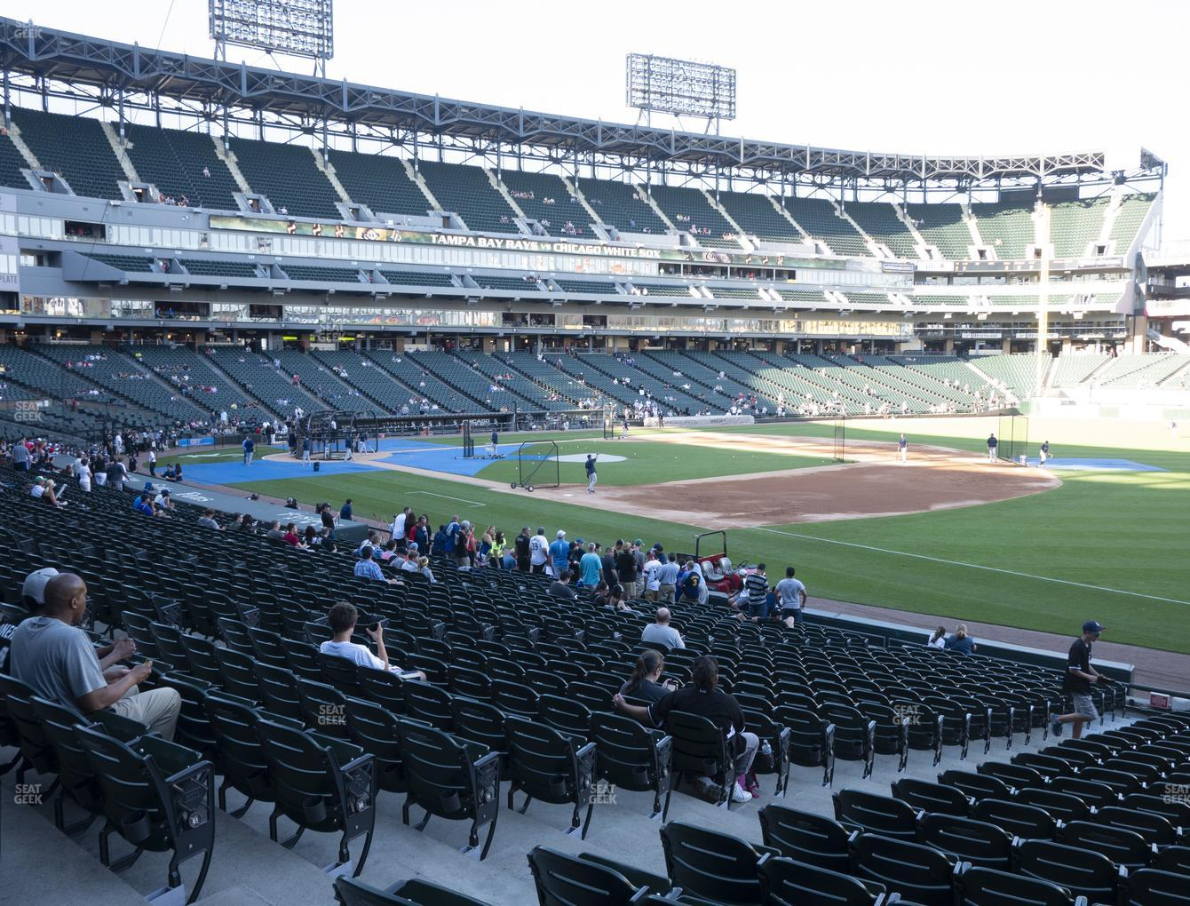 Chicago White Sox at Guaranteed Rate Field Section 117 View