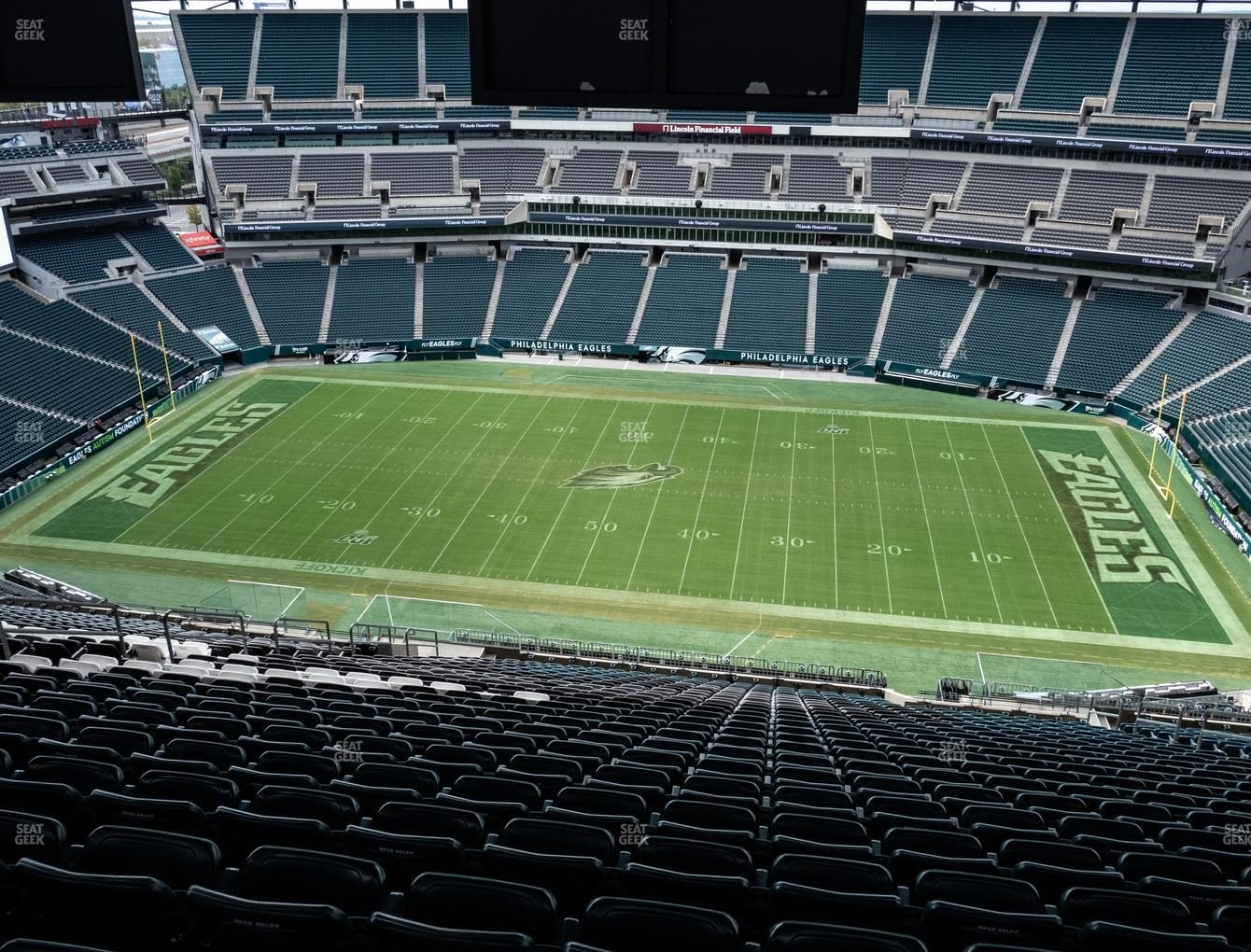 Philadelphia Eagles at Lincoln Financial Field Section 226 View