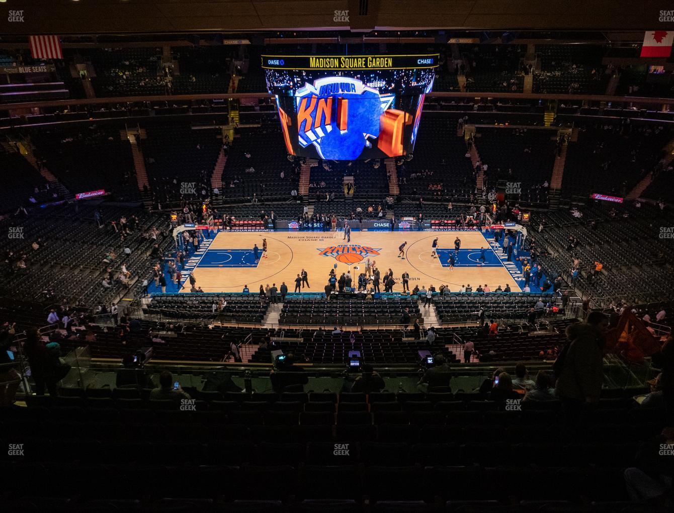 Madison Square Garden Section 224 Seat Views Seatgeek