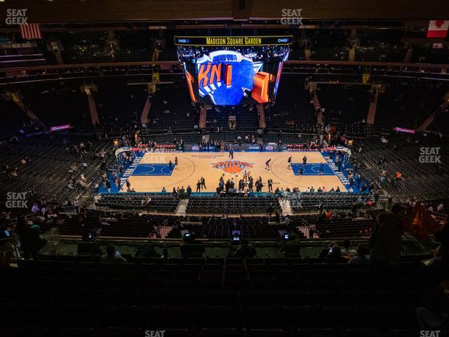 Madison Square Garden Section 224 view