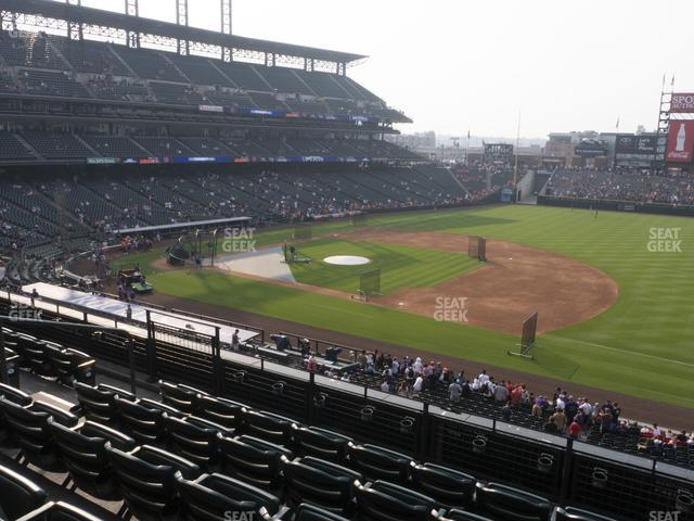 Coors Field Section 219 view