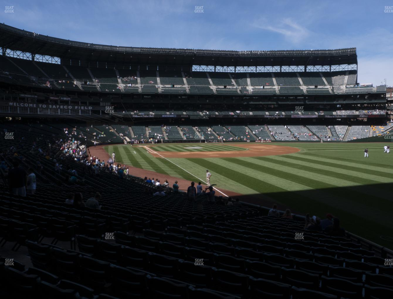 Seattle Mariners at T-Mobile Park Section 111 View