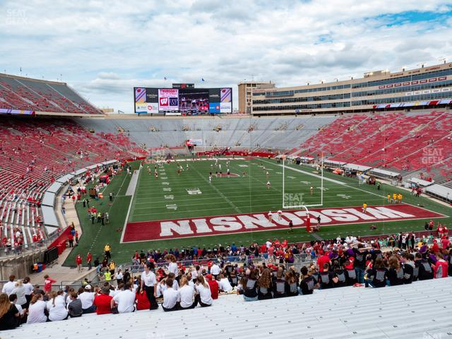 Camp Randall Stadium Section Z 3 view