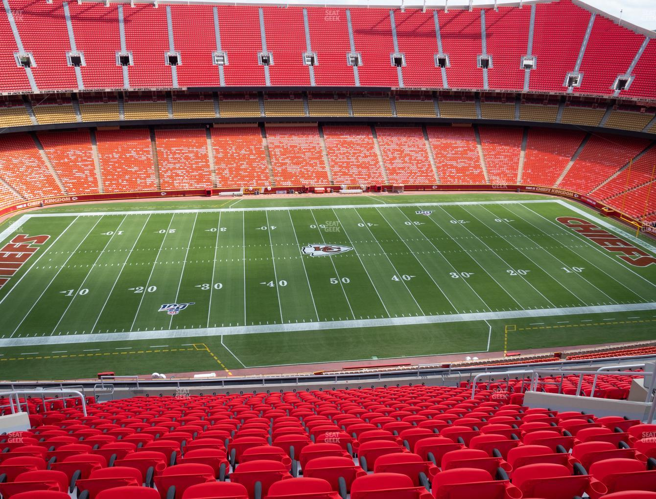 Arrowhead Stadium Section 325 Seat