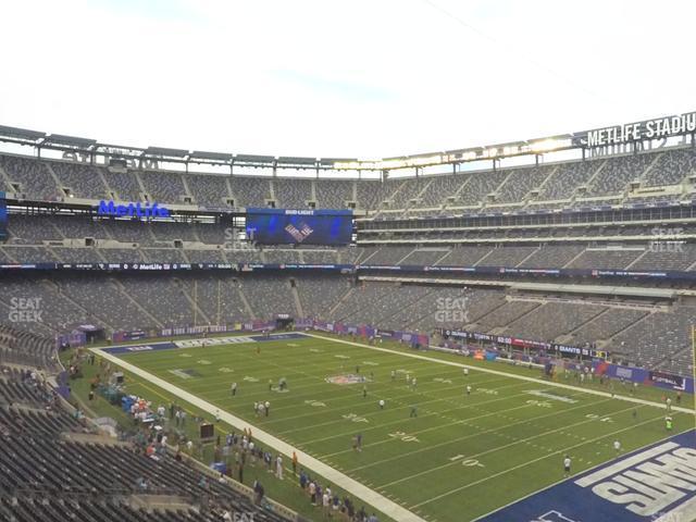 MetLife Stadium Section 232 A view