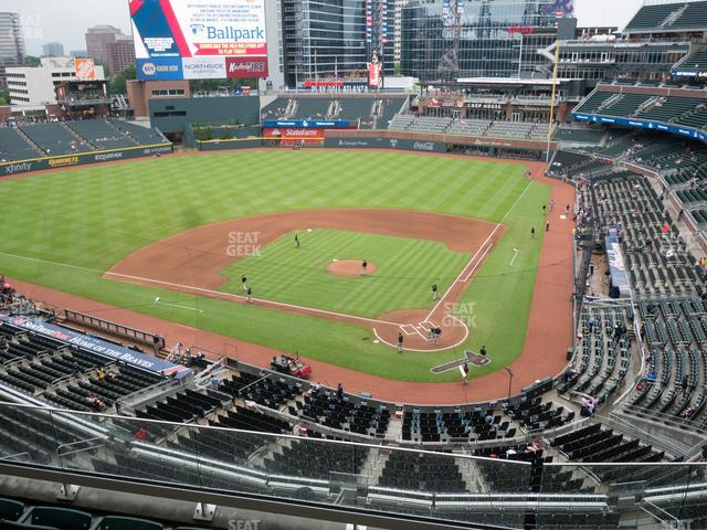 SunTrust Park Section 328 view