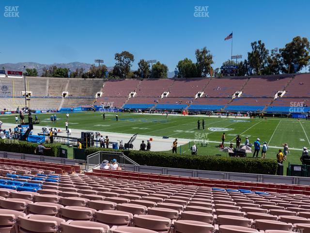 Rose Bowl Lower 21 L view