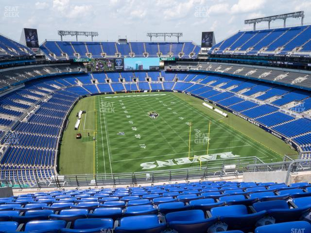 M&T Bank Stadium Section 515 view