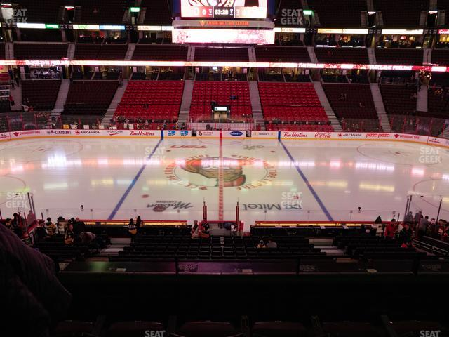 Canadian Tire Centre Section 209 view