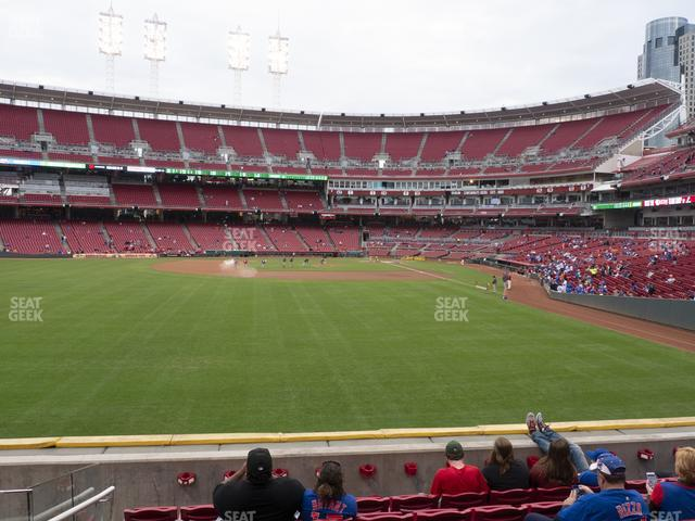 Great American Ball Park Section 104 view