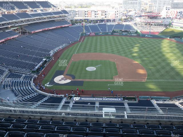 Nationals Park Section 418 view