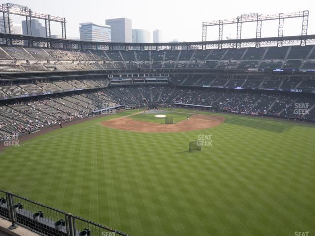 Coors Field Lower 302 view