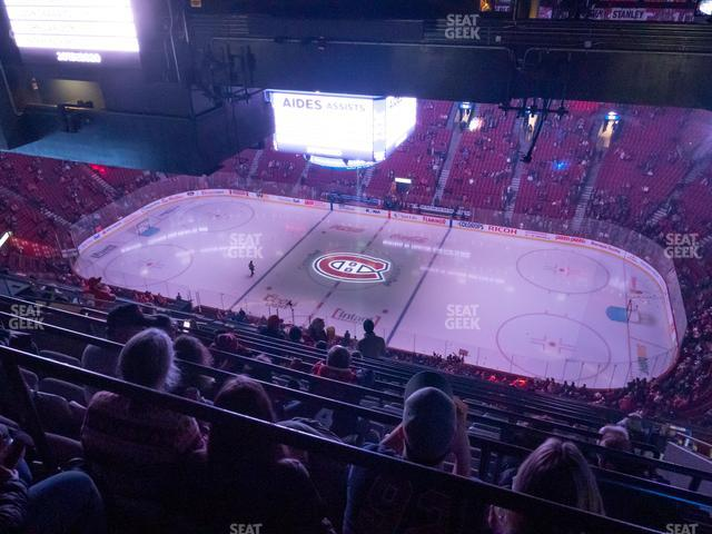 Bell Centre Section 417 view