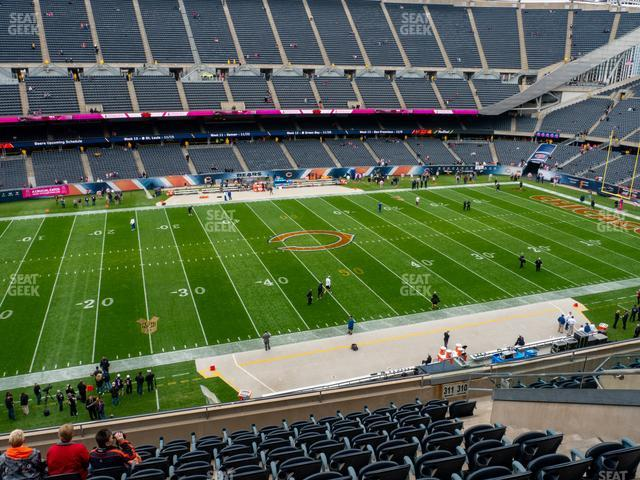 Soldier Field Section 311 view