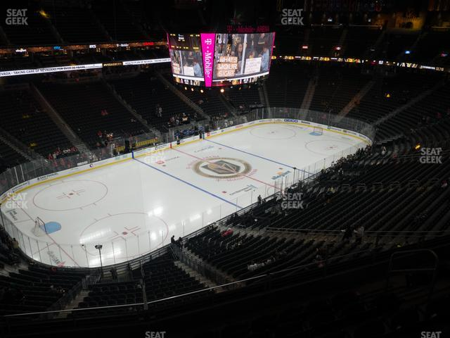 T-Mobile Arena Section 219 view