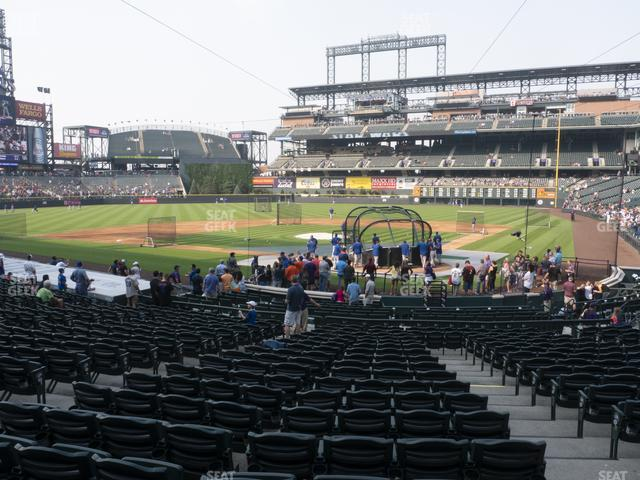 Coors Field Section 133 view