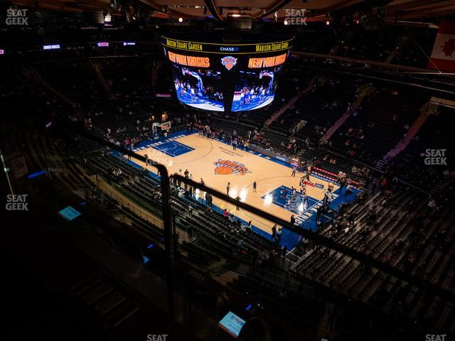 Madison Square Garden Section 328 view