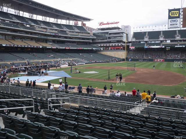 Target Field Section 107 view