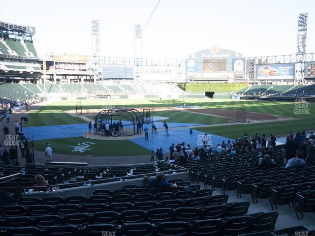 Guaranteed Rate Field Section 130 view