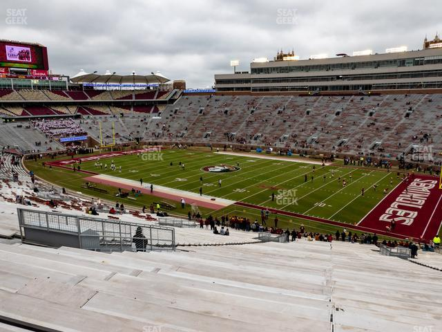 Doak Campbell Stadium Section 6 view
