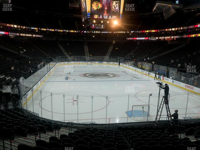 T-Mobile Arena Section 20 view