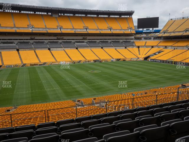 Heinz Field Section 208 view